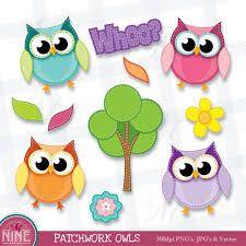 Resultado de imagen para etsy clipart OWL