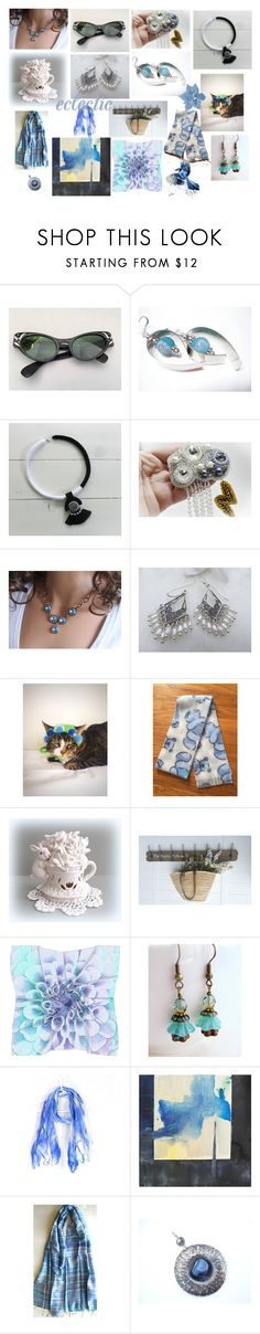 """""""Eclectic Gifts"""" by anna-recycle ❤ liked on Polyvore featuring Foster Grant, Aquarelle, modern, rustic and vintage"""