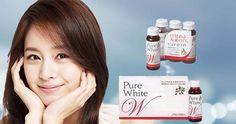 Pure white shiseido sản phẩm nước uống trắng da số 1 hiện nay. Pure white đem lại cho bạn làn da hoàn hảo nhất
