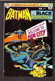 BRAVE THE BOLD 91 9.2 NM 1970 DC NICK CARDY BATMAN BLACK CANARY WP HIGH GRADE @ niftywarehouse.com #NiftyWarehouse #Geek #Gifts #Collectibles #Entertainment #Merch