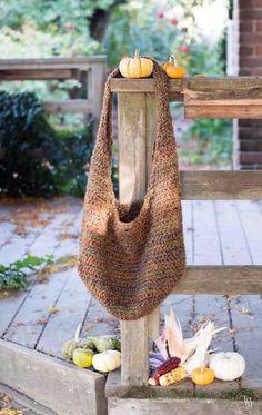 Market Bag Crochet Pattern