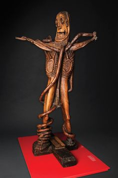 Fred Carter's raw and impassioned sculptures are featured in Raw Vision 82, available to pre-order at http://rawvision.com/shop/raw-vision-82 Photo by Dan Meyers