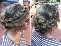 LOVE!!!! I would even consider wearing my hair up for my wedding if someone would do this for me!!