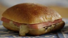 Easy Ham and Cheese Appetizer Sandwiches Video