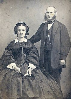 Have no idea who these people are.The picture is probably taken in the 1860's.What a set of whiskers!