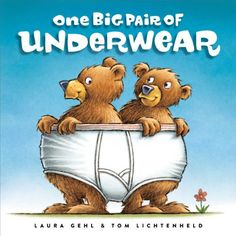 "Read ""One Big Pair of Underwear With Audio Recording"" by Laura Gehl available from Rakuten Kobo. Count and share with…underwear! Come along on a zany adventure with this Classic Board Book edition of One Big Pair of U. Math Literature, Math Books, Great Books, New Books, Best Books For Kindergarteners, Illustrator, Toms, Silly Pictures, Hilarious Pictures"