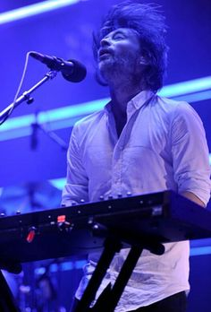 Thom Yorke - #Radiohead performs at Roseland Ballroom on September 28, 2011 in New York City.