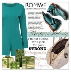"""""""Romwe 2."""" by selmagorath ❤ liked on Polyvore featuring Tiffany & Co., women's clothing, women, female, woman, misses and juniors"""
