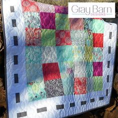 36 Charm Street Baby Quilt Pattern | This simple baby quilt pattern is perfect for beginner quilters!