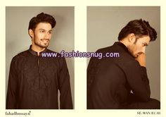 Fahad Hussayn Couture Men Kurta Shalwar 2013 For Eid