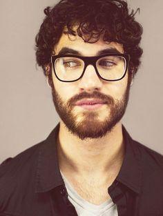 Darren Criss with a beard