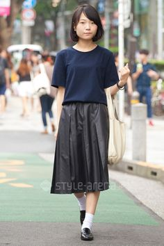 ナヲミさん | ZARA used  Santa Monica UNITED ARROWS 靴下屋 | 2015年9月第3週 | 表参道 | 東京ストリートスタイル | 東京のストリートファッション最新情報 | スタイルアリーナ