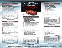 Auto Detailing, Mobiles, Mobile Phones  Auto Detailing Flyer Template