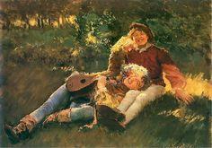 Happy Youths - Leon Wyczółkowski  1891