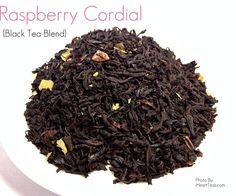 Raspberry Cordial {Black Tea Blend}