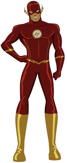The flash, the fastest man alive. Bruce Timm, Hq Marvel, Marvel Dc Comics, Marvel Cinematic, Comic Book Characters, Comic Character, Dc Speedsters, O Flash, Flash Comics