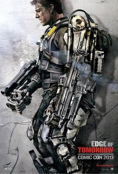 Edge of Tomorrow #Movie #Poster - Tom Cruise