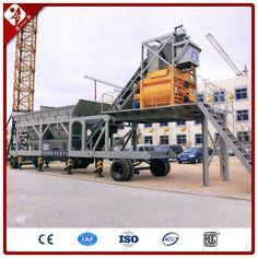 Zhengzhou Jianxin Machinery Co., Ltd: YHZS50 Mobile Concrete Batching Plant Mobile modul...