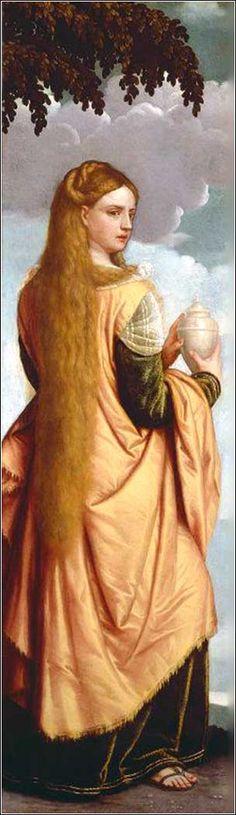 Mary Magdalene by Moretto da Brescia, ca. 1540