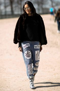 09456a4845e The Best of Paris Fashion Week Street Style 2015
