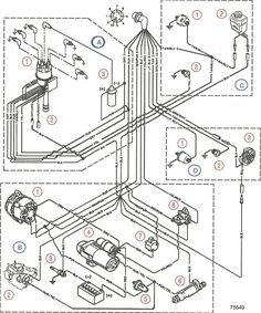 Volvo Penta Alternator Wiring Diagram | yate | Pinterest | Volvo ...