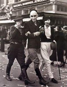 vintage Mardi Gras, happy Fat Tuesday!
