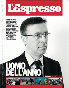 La copertina dell'Espresso in edicola da mercoledì 24 dicembre