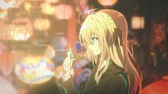 Violet Evergarden 1 by on DeviantArt Vocaloid, Violet Evergreen, Violet Evergarden Anime, Real Anime, Kyoto Animation, Some Beautiful Pictures, Another Anime, Anime Fantasy, Light Novel