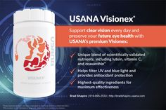 Retailer and distributor of USANA health products in Davao City. Future Eyes, True Health, Health And Wellness Quotes, Natural Supplements, Nutritional Supplements, Vitamin C, Herbalism, The Cure, Health Products