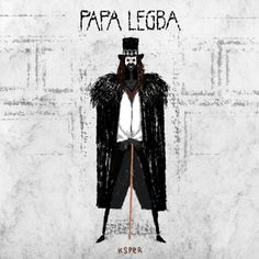 Papa Legba - moving illustration