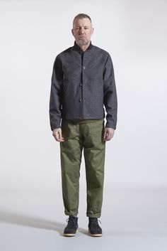 budgie jacket pocket tee fatigue pants