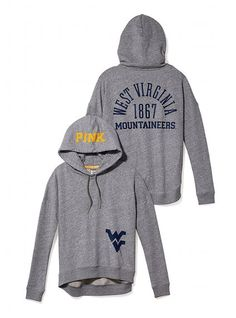 West Virginia University Slouchy Hoodie - Victoria's Secret PINK - Victoria's Secret