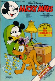 A cover gallery for the comic book Micky Maus Vintage Comic Books, Vintage Comics, Donald Sterling, Scrooge Mcduck, I Remember When, Comic Book Covers, 2 Set, Vintage Disney, Donald Duck
