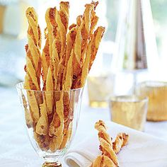 cheddar herb twists.  I would not do these again.  Too flaky and airy, I was looking for a dense crunchy cracker type stick, this is not that.