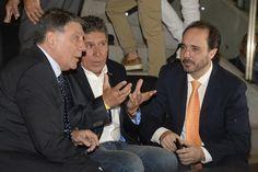 Miguel Ángel Brindisi y Koke Contreras, invitados de honor en el estreno del documental de la UD Las Palmas, 'Tardes de gloria'.