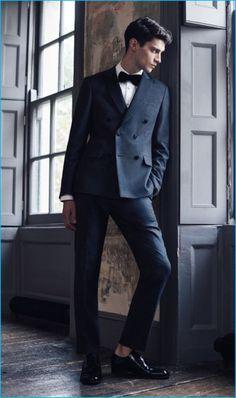 Matthew Bell for Reiss 2016 Formal Men Attire