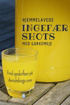 Ginger shots - with turmeric and lemon