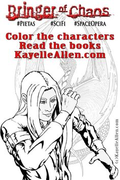 What do you like to color? How about a great character from a book? https://kayelleallen.com/color-books/ #MFRWhooks