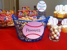 Lovely Baseball Themed Baby Shower