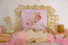 Pink and Gold Birthday Party Ideas | Photo 17 of 30