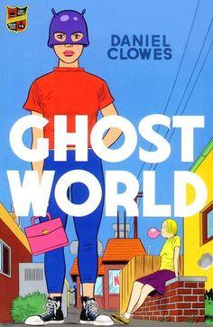 Daniel Clowes - Ghost World (graphic novel) Ghost World, Underground Comics, Comic Book Covers, Comic Books Art, Book Art, Time Magazine, Shaun Tan, Daniel Clowes, Complicated Relationship