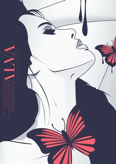 Illustration and branding project by Siwoku Design. Designed under the working title of ALVA