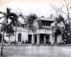 U.S. Embassy..   ...on the morning of the June 30th 1951 coup d'etat. Caught a little shelling from the brief skirmish. My understanding that this particular U.S. mission was located around the neighborhood of Suk 15....until 1954.