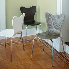 Scoop-Back Chair #West Elm