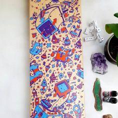Scribble, Dune, Original Artwork, Digital Art, Plant, Artist, Poster, Painting, Instagram