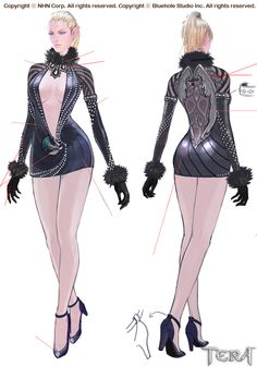 This is costume design for Tera Copyright ⓒ NHN Corp. All rights reserved. Copyright ⓒ Bluehole Studio Inc. All rights reserved.
