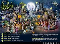 Tim Burton's The Corpse Bride Village