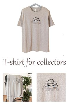 T-shirt for collectors Stones And Crystals, Machine Embroidery, T Shirts For Women, Stuff To Buy, Accessories, Tops, Fashion, Moda, Fashion Styles