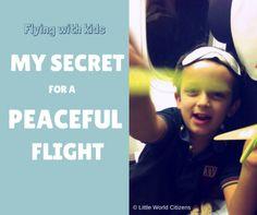 my secret for a peaceful flight
