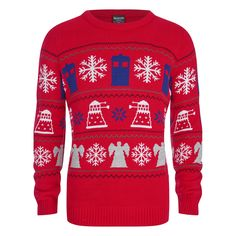 Doctor Who; xmas jumper